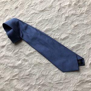 Blue Dotted BANANA REPUBLIC Silk Tie